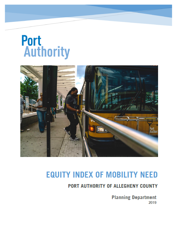 2019 Port Authority Equity Index of Mobility Need